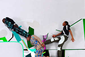 Mi-Zo's Kaleidoscopic Collage of Jumping, Running and Dancing