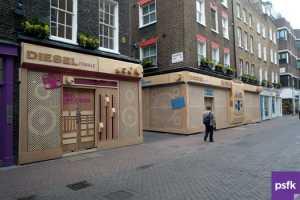 Diesel Launches Radical Retail Refurb in London