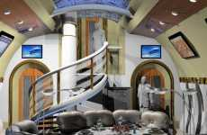 Futuristic VIP Aircraft - Interior Excellence Unveiled Inside Boeing's 747-8 Intercontinental