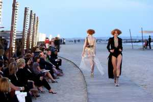 Marine-Inspired Chanel Cruise 2010 Show in Venice