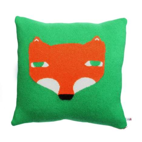 Vintage Animal Cushions - Knitted Scottish Lambswool Pillows by Donna Wilson
