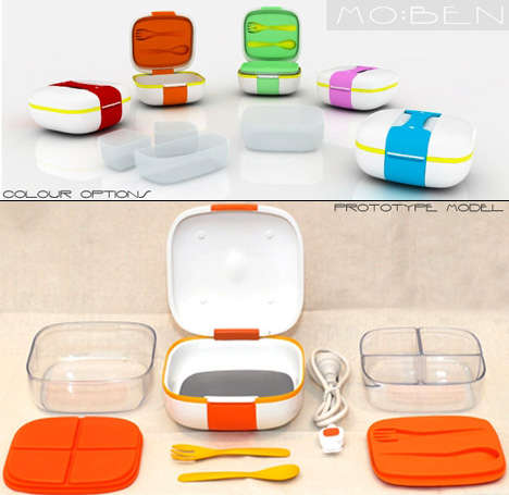 Self-Heating Lunchboxes