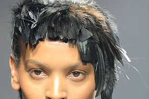 Fabulous Avian Hairpieces From the Lanvin Fall 2009 Collection