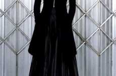 Futuristic Goth Fashion - Gareth Pugh's Fall 2009 Collection Goes to the Dark Side