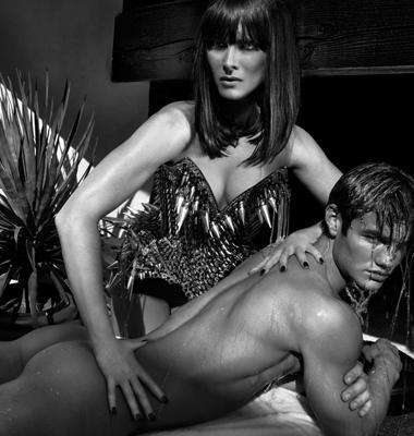 Racy Cougar Celebrities - Brooke Shields' Scandalous Kurv Photo Shoot