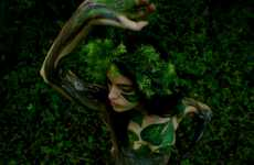 Nature-Inspired Body Painting