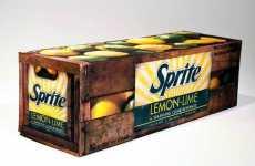 Nostalgic Soda Packaging - Jordan Puopolo's Vintage-Inspired Sprite Redesign