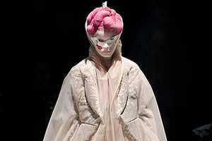 Rei Kawakubo's Sensational Silhouettes for Fall 2009