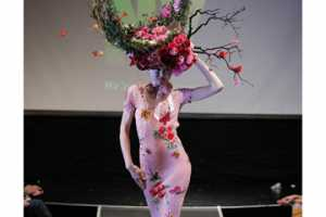 'Tulips & Pansies Affair' Fashions Benefit AIDS Charity