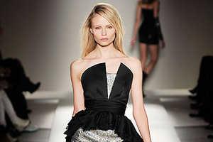 Balmain Brings Back Floor-Length Tail Dresses for Fall 2009