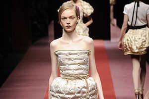 D&G's Fall 2009 Luminous Luxury Dresses