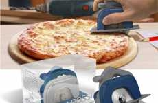 Manly Kitchen Gadgets - The Pizza Boss 3000 Circular Saw Pie Cutter