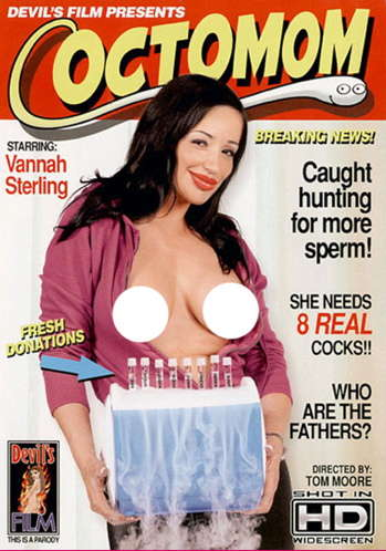 Naughty Parental Spoofs - Adult Movie Parody of Octomom Revives Media Storm