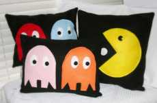 Gaming Pillows - Pac-Man Pillows Represent Your Addictions