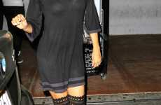 19 Thigh-High Fashions - From Heidi Klum's Tall Boots to Eva Longoria's Ultra High Socks
