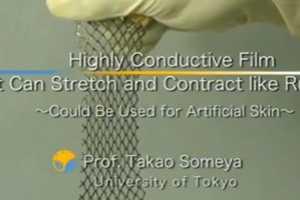 University of Tokyo Creates Sensor Packed Skins