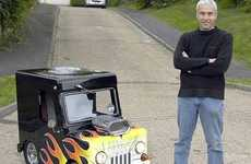 Street Legal Kiddy Cars - Perry Watkins Makes What is Possibly the World's Smallest Car