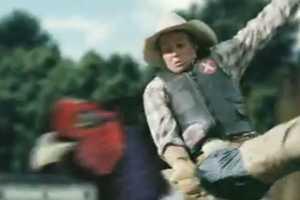 Drench Juicy Spring Water Ad Makes Cowboys Ride Pheasants