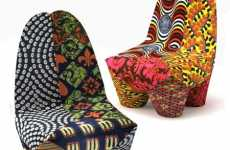African-Inspired Furniture - Moroso's Binta Armchair Brings Culture to a Modern Home
