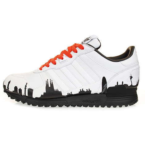 Cityscape Sneakers - Adidas ZX700 Gets Edgy With an Urban Flair for Your Feet