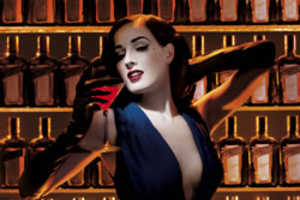 Dita Von Teese is Classy Brand Ambassador for Cointreau