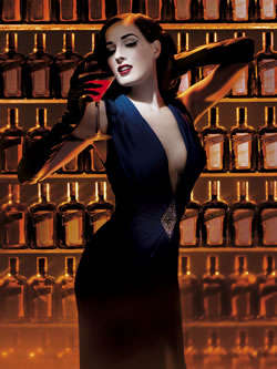 Burlesque Booze Ads