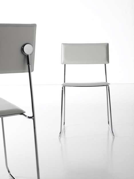 Barely-There Seating - Sancal's Maxie Chair is a Minimalist's Dream