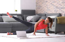 Inspirational At-Home Fitness Streaming - City Shred is Offering Free Online Fitness Classes