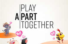 Video Game-Branded Distancing Campaigns - King & WHO Launched the #PlayApartTogether Campaign