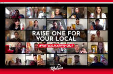 Charitable Virtual Happy Hours - Molson Canadian Launched a New Campaign to Support Local Bars