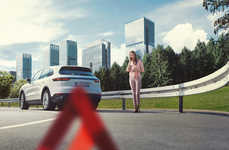 Pandemic-Inspired Roadside Support - Porsche is Offering Roadside Assistance to Frontline Workers