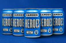 Charitable Beer-Branding Initiatives - Camden Town Brewery is Giving Back with its new Heroes Beer