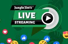 Supermarket At-Home Events - Jungle Jim Debuted 'Events at The Jungle' to Keep Consumers Engaged