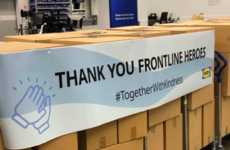 Charitable Furniture-Brand Donations - IKEA Canada Commits Over $2m to Support Local Communities