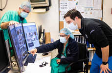 Patient-Monitoring Camera Systems - Google Provided Nest Cams to Mount Sinai to Protect Workers