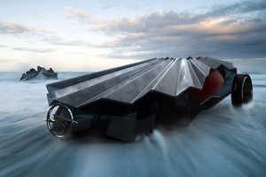 Cerulian Concept Car by Shawn Deutchman Makes for Icy Adventures