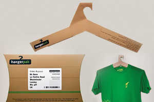 The HangerPak Combines Packaging and Storage in One