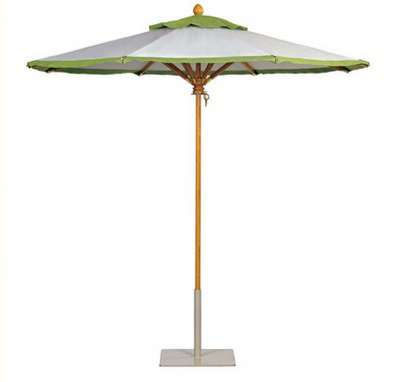 Upscale Backyard Umbrellas