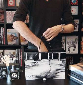 Penisvertising - Tom of Finland Shopping Bag Creates Cheeky Illusion