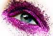 Glitter-Encrusted Eyelids