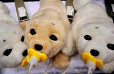 Robot Animal Therapy - Paro the Mechanical Baby Seal Helps Sick & Elderly Heal