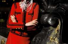 Ornate Russian Fashion - Karl Lagerfeld's Pre-Fall Campaign for Chanel