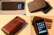 Wooden Mobile Cases - Substrata Creates Sleek Handmade iPhone Protectors