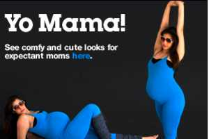 American Apparel Makes Baby Bumps Stylish in Spandex