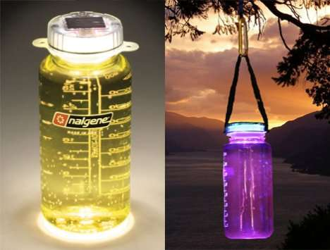 Glowing Water Bottles
