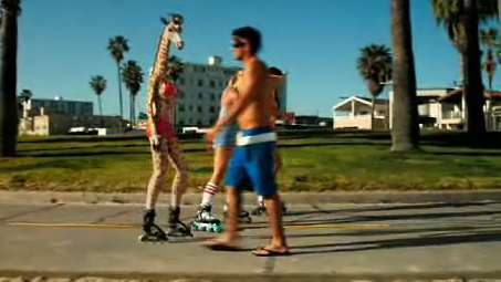 Rollerblading Giraffes - Orangina Gets Kooky With Humanimal Ad Campaign