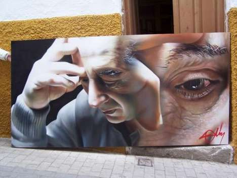 Photorealistic Graffiti