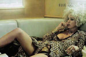 Sharon Stone Plays Muse for Elle Magazine
