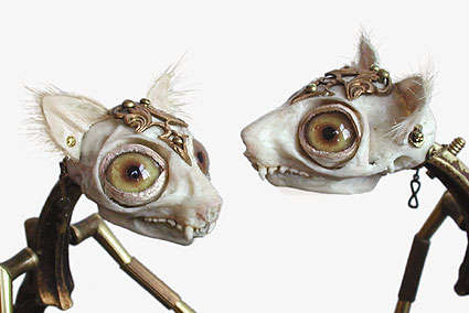 Bejeweled Animal Skeletons
