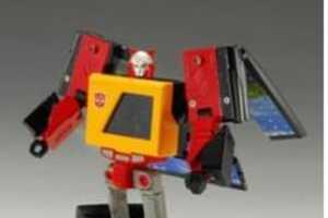 Office Robot is a Mini PC, USB Hub & Cassette Player